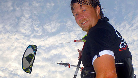 George Ivan Pare of True Progression Kiteboarding Ozone Kites Sakonnet Point Little Compton RI